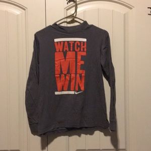 Nike boys long sleeve T-shirt size Large